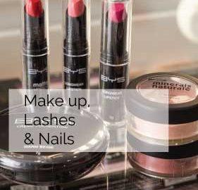 Make up, Lashes & Nails