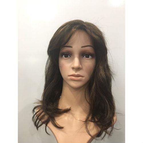 Crossdressing wig in glamour chestnut back wig